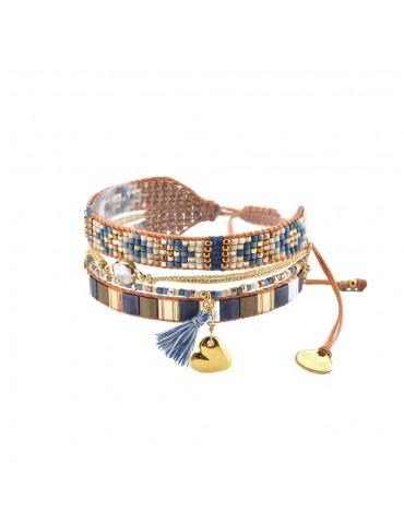 Bracelet Manchette MEDLY HEART
